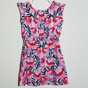 Gap Floral Lined Dress XS